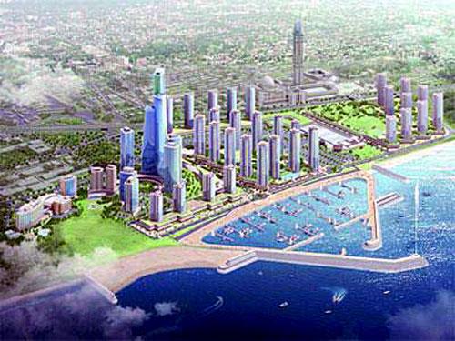 vision futuriste d'Alger