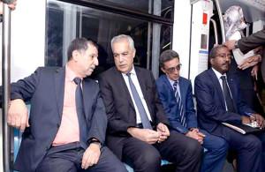 Métro d'Alger - El harrach - Haï El-Badr